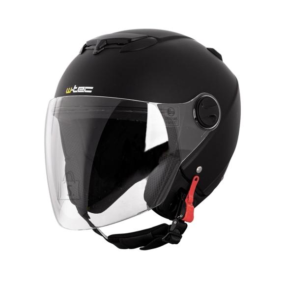 W-Tec Motorcycle Helmet W-TEC YM-617 - Pure Matt Black M (57-58)