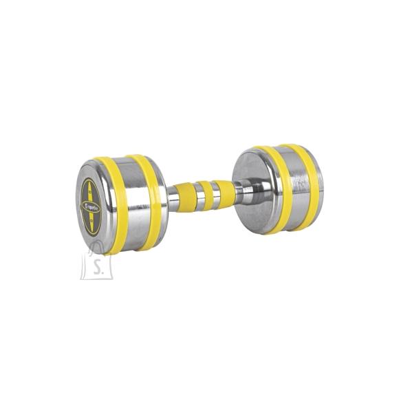 inSPORTline Chrome Dumbbell inSPORTline Yellsteel 8 kg