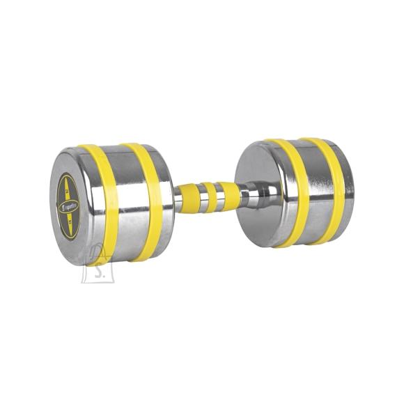 inSPORTline Chrome Dumbbell inSPORTline Yellsteel 12 kg