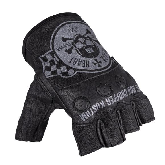 W-Tec Chopper Gloves W-TEC Black Heart Wipplar - Black XXL