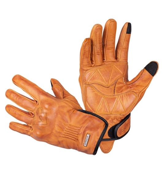 W-Tec Leather Motorcycle Gloves W-Tec Dahmer - Light Brown XXL