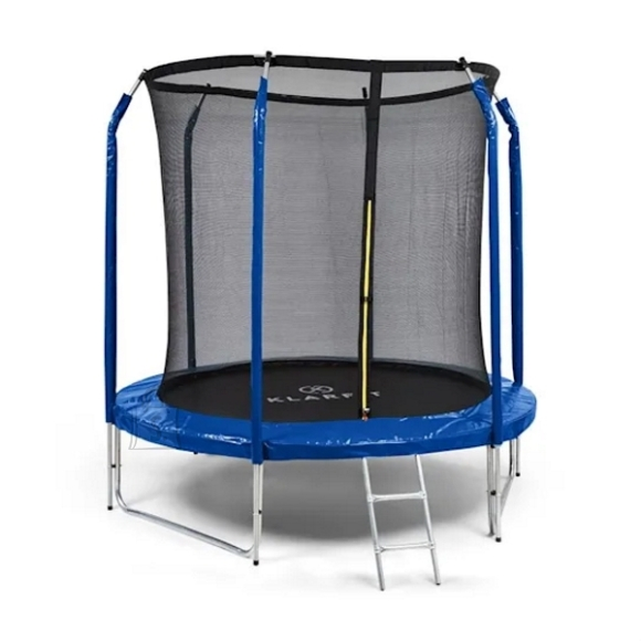 Trampoline KLARFIT Jumpstarter 250 cm Blue