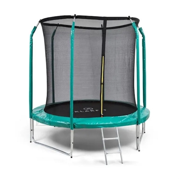 Trampoline KLARFIT Jumpstarter 250 cm Green