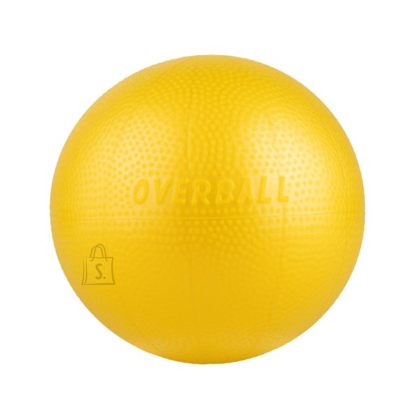 Rehabilitation Ball Yate Overball Yellow, 23cm