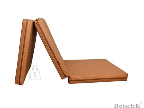 Foldable Gymnastic Mattress BenchK Brown