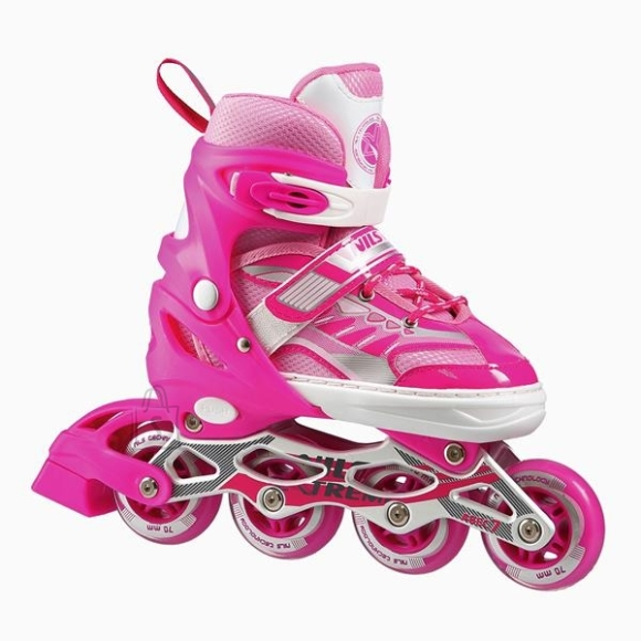 Nils Extreme In-Line Skates Nils Extreme NJ1828 Pink - PU80 mm/82A (L 39-42)