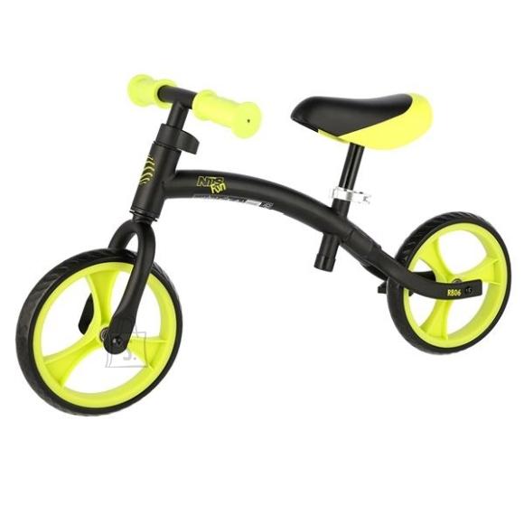Balance Bike Nils Fun RB06 Black-Green
