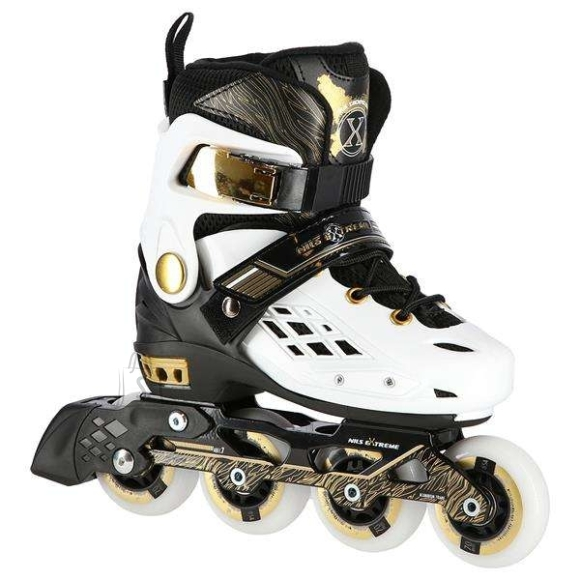Nils Extreme In-Line Skates Nils Extreme NA20004 White - PU70 mm/82A (S 31-34)