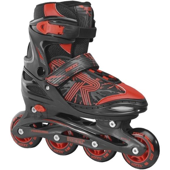 Inline Skates Roces Jokey 3.0 Boy, Black-Red - 34/37