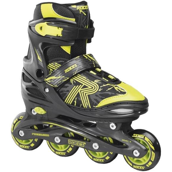 Inline Skates Roces Jokey 3.0 Boy, Black-Lime, Size 38-41