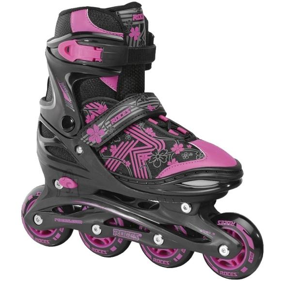 Inline Skates Roces Jokey 3.0 Girl, Black-Pink, Size 30-33