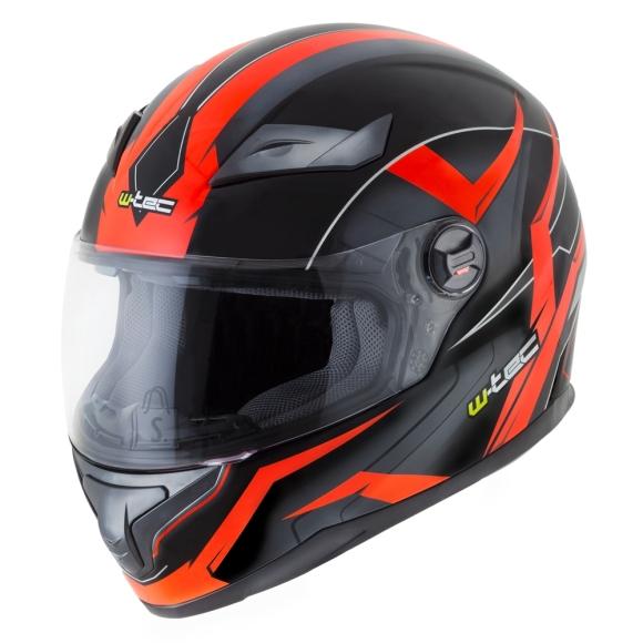 W-Tec Integral Helmet W-TEC FS-811BO Fire Orange - Black-Orange XS (53-54)