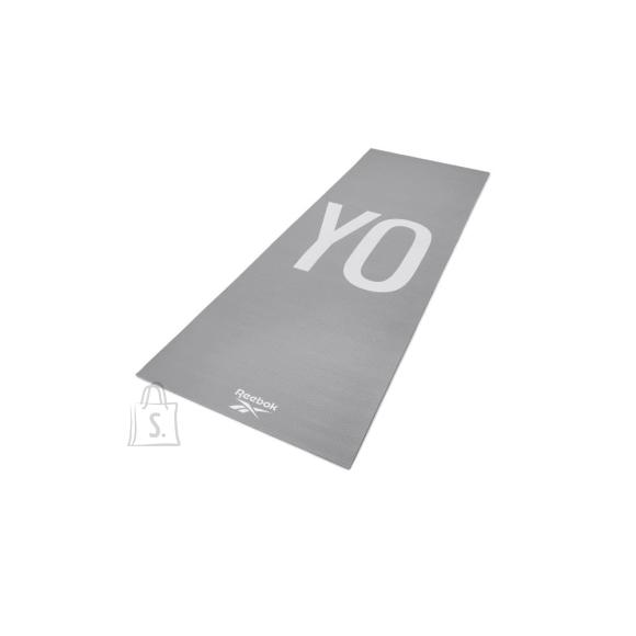 Reebok Double Sided Yoga Mat Reebok Yoga - Grey, 4 mm