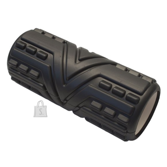 Massage Roller Yate 33x14 cm - Black