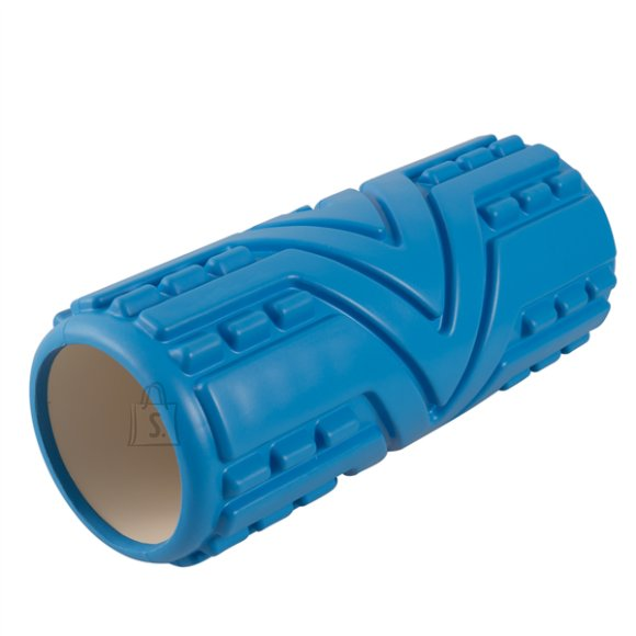 Massage Roller YATE - 33x14 cm, blue