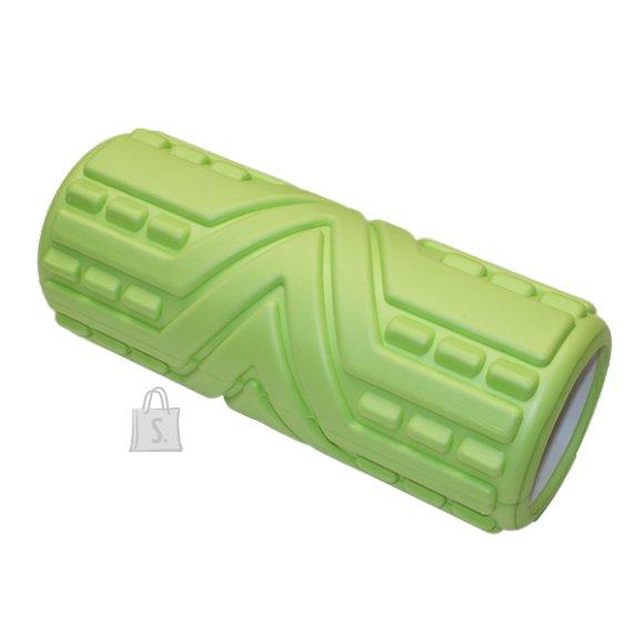 Massage Roller YATE - 33x14 cm, green