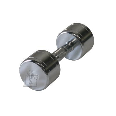 Steel chrome dumbbell Bauer Fitness 10 kg AC-15110