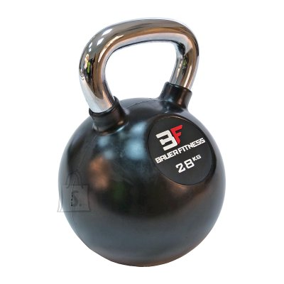 Rubber-Coated Kettlebell Bauer Fitness AC-12512 28kg