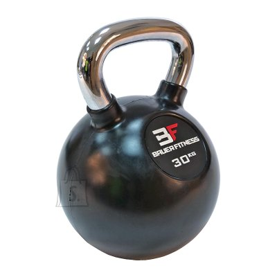 Rubber-Coated Kettlebell Bauer Fitness AC-12513 30kg