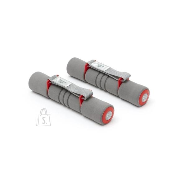 Reebok Softgrip Dumbbells Reebok 2x2kg Red