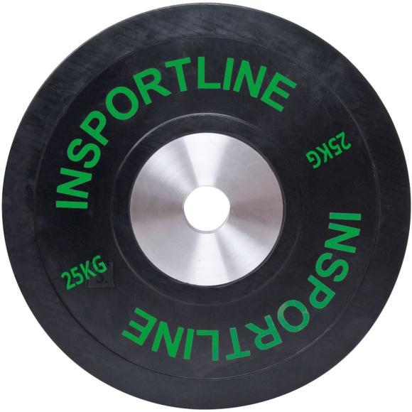 inSPORTline Rubber Weight Plate inSPORTline Bumper Plate 25 kg
