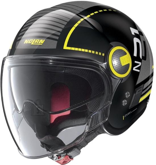 Nolan Motorcycle Helmet Nolan N21 Visor Runabout - Metal Black-Yellow M (57-58)