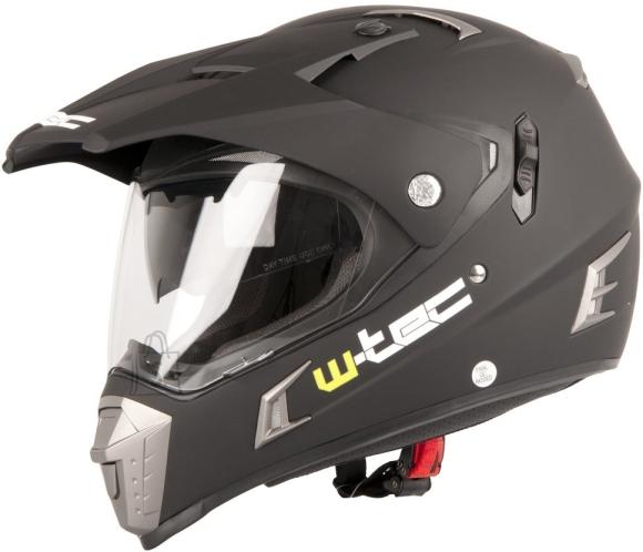 W-Tec Motocross Helmet W-TEC NK-311 - Matt Black XS (53-54)