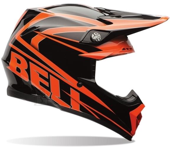 Motocross Helmet BELL Moto-9 - Orange-Black S(55-56)