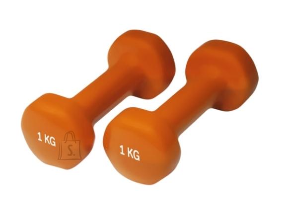 Neoprene Dumbbells Yate, 2x1 kg