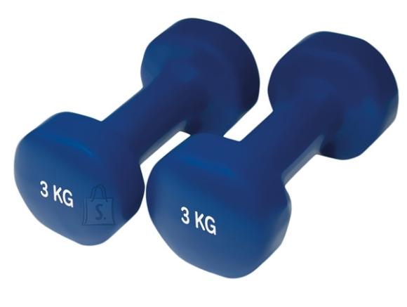 Neoprene Dumbbells Yate, 2x3 kg