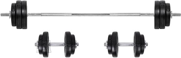 inSPORTline Loading Barbell & Dumbbell Set inSPORTline BS08 3-50kg
