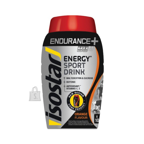 Isostar joogipulber Endurance+ Orange 790 g
