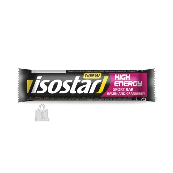 Isostar High Energy Rosina-Jõhvikabatoon 40 g