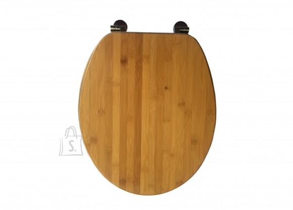 Prill-laud naturaalne tume puit bambus