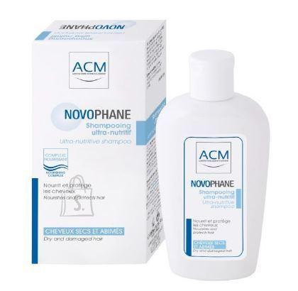 ACM Novophane Ultra-Nutritive šampoon kuivadele juustele 200ml