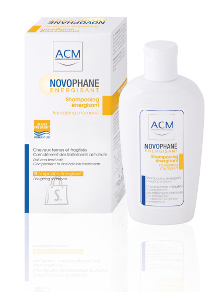 ACM Novophane Energisant šampoon juuste väljalangemise vastu 200ml