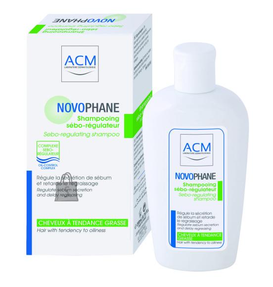 ACM Novophane Sebo-Regulating šampoon rasusele peanahale 200ml