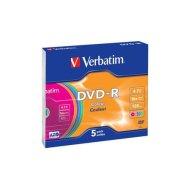 Verbatim DVD-R toorikute komplekt 4.7GB 16X 5 tk