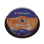 Verbatim DVD-R toorikute torn 4.7GB 16X 10 tk