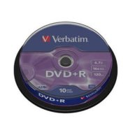 Verbatim DVD+R toorikute torn 4.7GB 16X 10 tk
