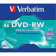Verbatim DVD-RW toorik 4.7GB 4X
