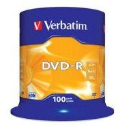 Verbatim DVD-R toorikute torn 4.7GB 16X 100 tk