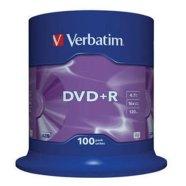 Verbatim DVD+R toorikute torn 4.7GB 16X 100 tk