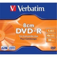 Verbatim mini toorik DVD-R 1.4GB 4X