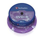 Verbatim DVD+R toorikute torn 4.7GB 16X 25 tk