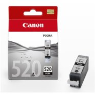 Canon Canon PGI-520 High Capacity Pigment Black Ink Tank (for Pixma IP3600/IP4600/MP540/MP620/MP630/MP980), 350 p. @ A4 5%