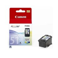 Canon Canon CL-511 FINE Color Ink Cartridge (Magenta, Yellow, Cyan) (for Pixma MP240, MP260, MP280, MP480), 244 p. @ A4 5%