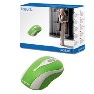 Logilink Logilink Mini Optical Scroll Mouse GREEN