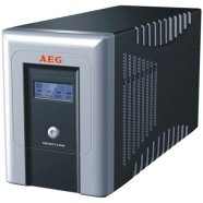 AEG AEG UPS Protect.A 1400, 1400VA / 840W / 4x IEC-320 battery protected/ 2x IEC-320 overvoltage protection / Fax line, Network protection / USB / RS232 / Automatic Voltage Regulation / Line interactive / ~40 minutes backup time / CompuWatch Software for Windows, Linux, Mac