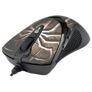 A4Tech A4Tech mouse XL-747H  Laser Anti-Vibrate Gaming (Brown spider), 3600 dpi, LED color indicator, 64K memory, USB